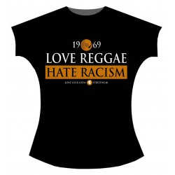 Love Reggae, Hate Racism (girlie)