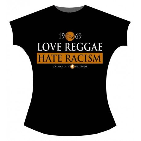 Love Reggae, Hate Racism (chica)