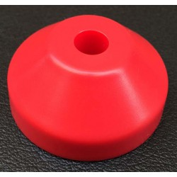 Red (plastic spindle adapter)