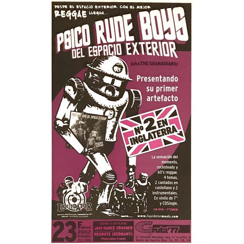 Poster Psico Rude Boys del Espacio Exterior (70x33cm)