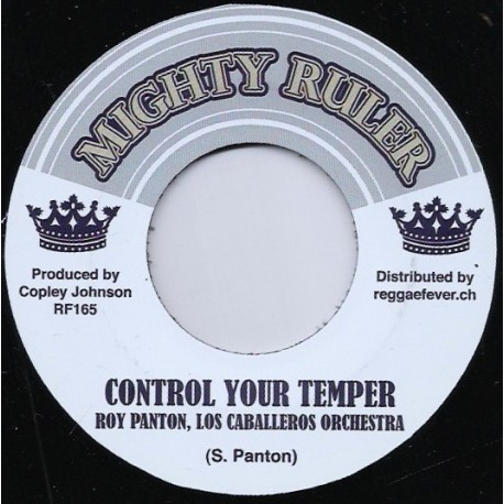 Control Your Temper / Make Yourself Comfortable