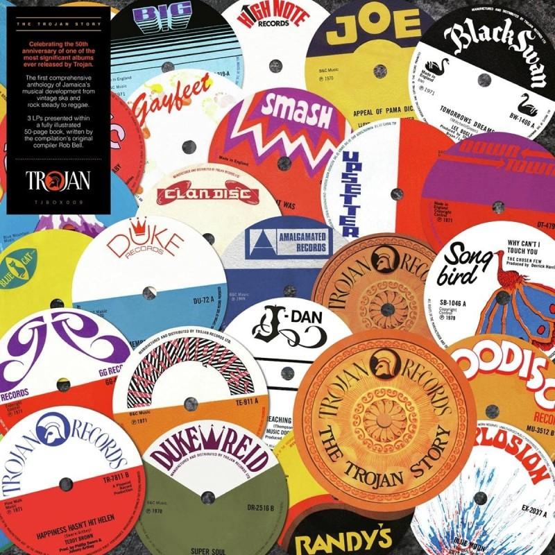 The Trojan Story 3-Disc Vinyl Book Pack