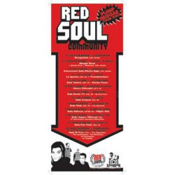 Poster Red Soul Community (70x33cm)