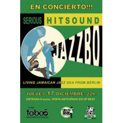 Poster Jazzbo 'Serious Hitsound' (A3)