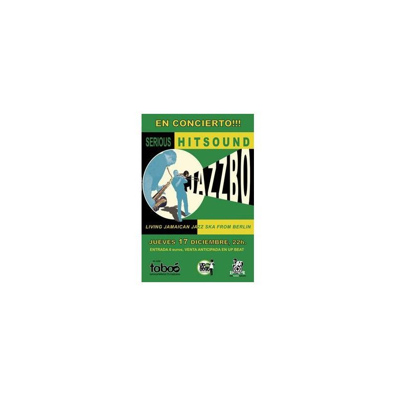 Poster Jazzbo 'Serious Hitsound' (A3)