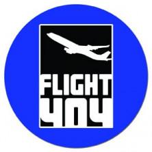 Flight 404 (pegatina pvc)